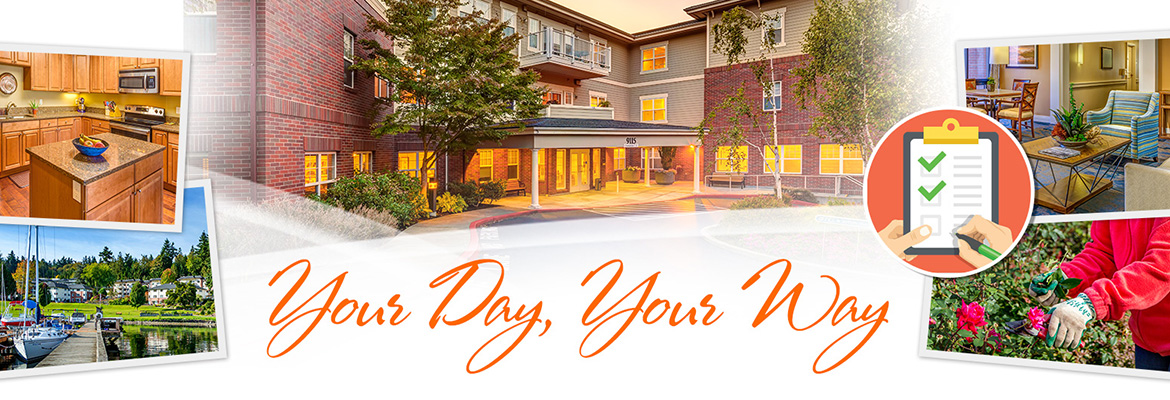 Spend Your Day, Your Way at Covenant Shores