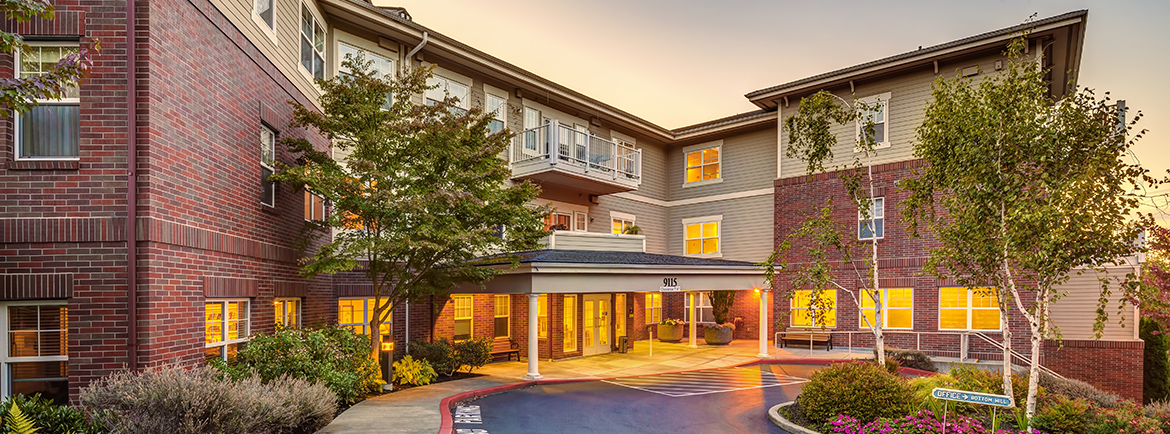 Skilled nursing facility at Covenant Shores in Mercer Island
